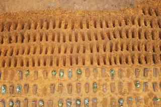 Movimentação no Cemitério Parque Manaus