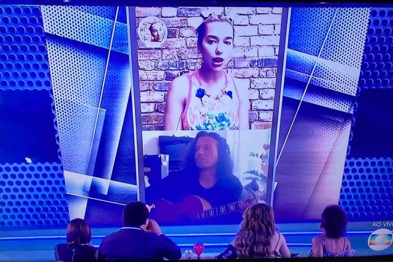 Dua Lipa faz show ao vivo para elenco do BBB 20