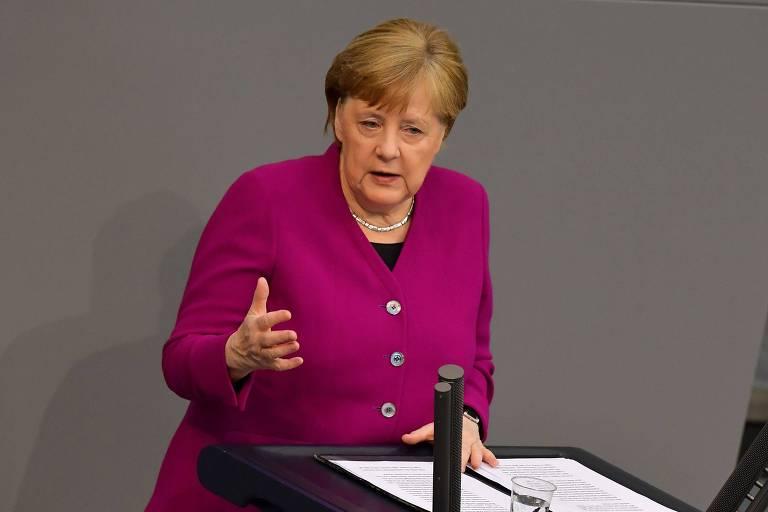 Alemanha deve evitar retomada muito rápida, diz Merkel