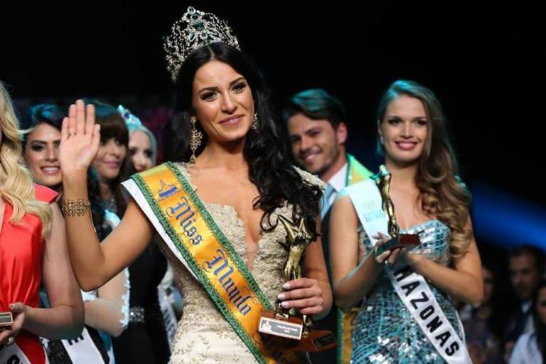 Imagens da Miss Brasil Mundo 2014 Júlia Gama