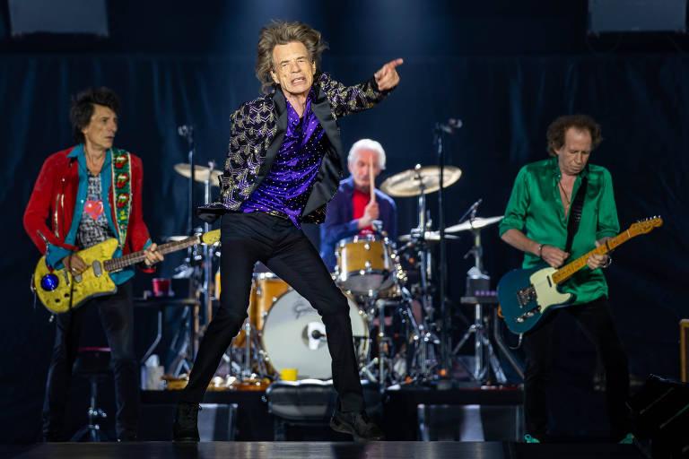 A banda Rolling Stones