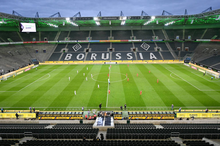 Último jogo da Bundesliga, em dia 11 de março, entre Borussia Monchengladbach e Colônia, foi com portões fechados