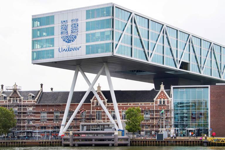 Sede da Unilever em Roterdão, na Holanda
