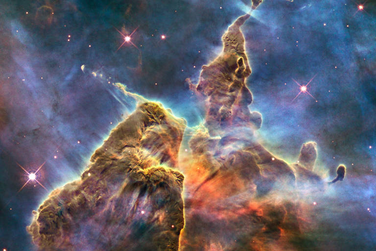 Veja a imagem que o Hubble criou no dia do seu aniversário