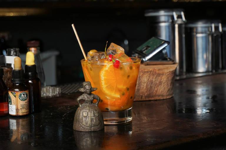 Caipirinha de Jean Ponce, do Guarita Bar