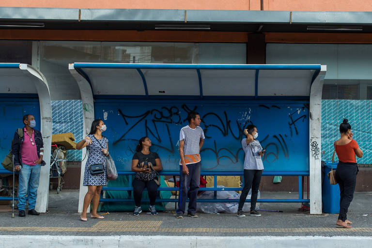 Em Guarulhos será obrigatório usar máscara no transporte coletivo a partir da próxima segunda-feira (27)