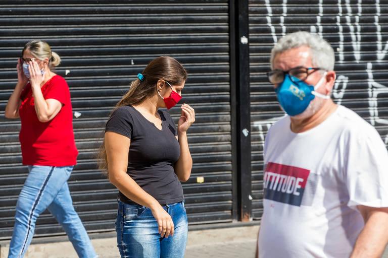 Cidades paulistas iniciam obrigatoriedade do uso de máscaras de proteção