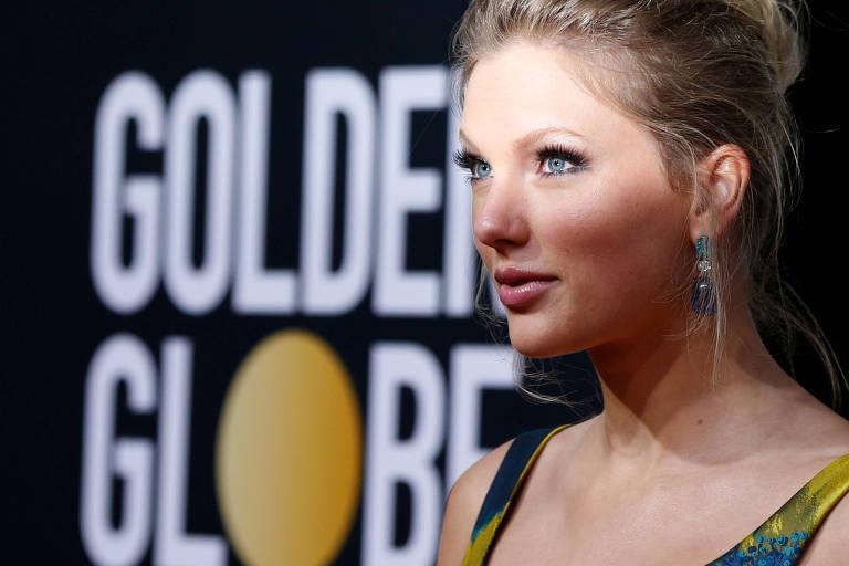 Taylor Swift no Golden Globe Awards 2020