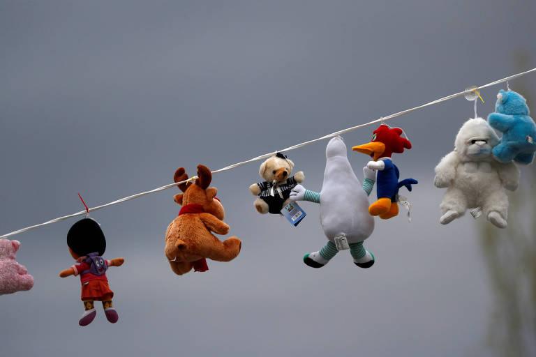 Diário de Confinamento: 'Sair, sim, mas com separação de brinquedos'