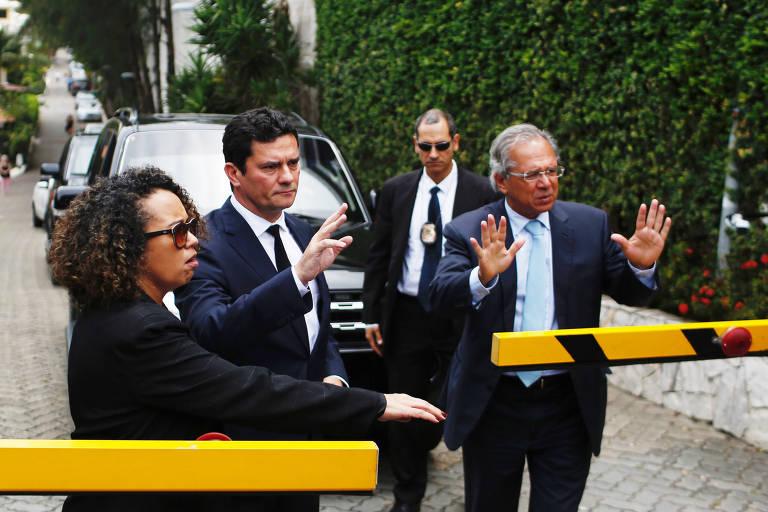 Veja a trajetória do ex-juiz Moro no ministério da Justiça em 20 fotos