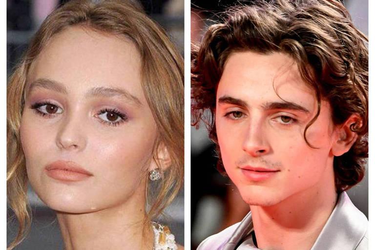 Chega ao fim namoro de Timothee Chalamet e Lily-Rose Depp, filha de Johnny Depp