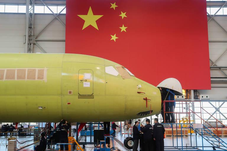 Governo vê na China saída para a Embraer