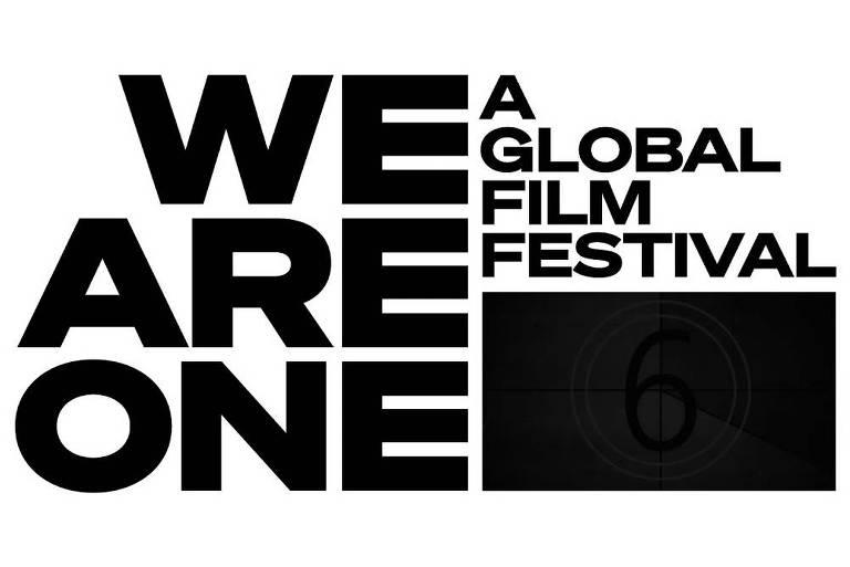 Logo do We Are One: A Global Film Festival, festival de cinema digital