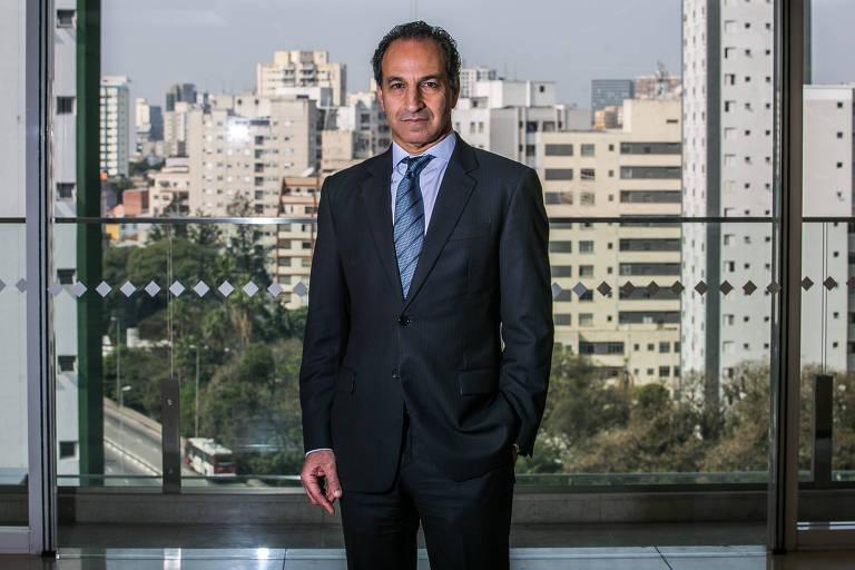 O médico Paulo Chapchap,, CEO e médico cirurgião no Hospital Sírio-Libanês