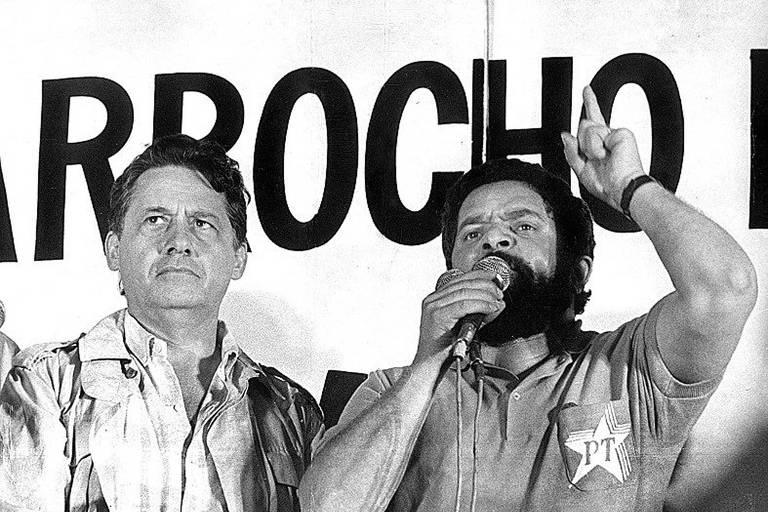 Momentos na história em que FHC e Lula dividiram palanque