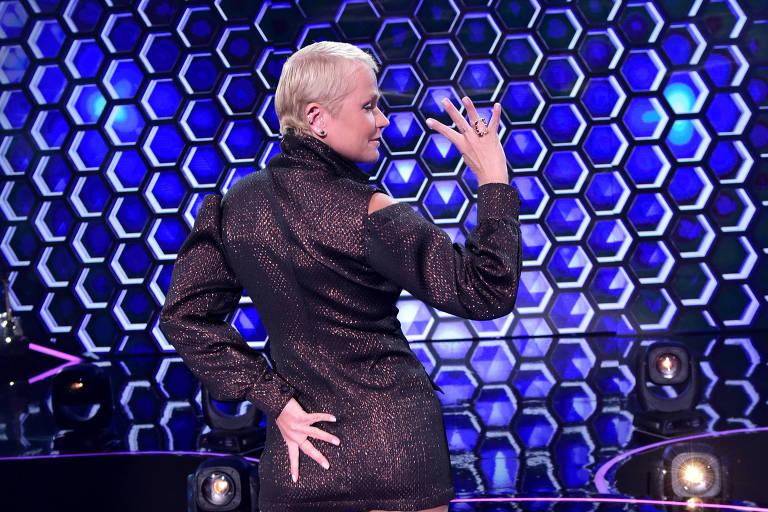 Xuxa agradece a Faustão por ser lembrada na tela da Globo
