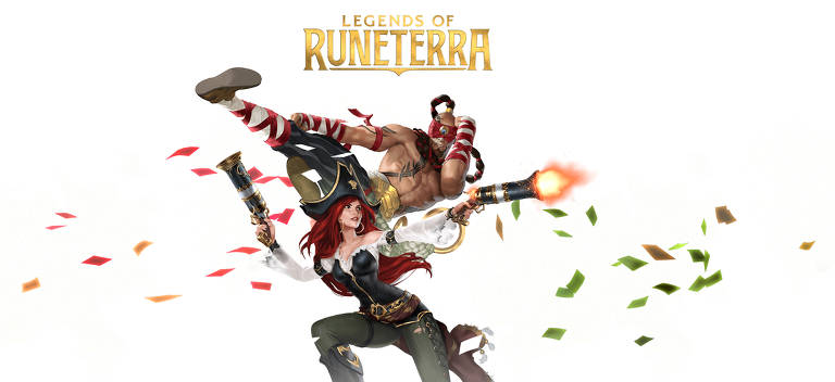 Imagens do card game Legends of Runeterra