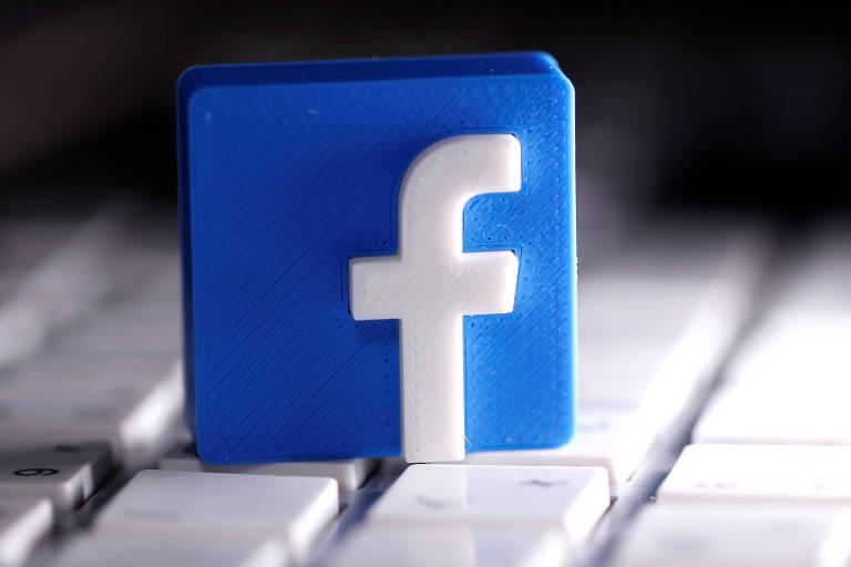 Logo do Facebook; empresa dobra lucro no primeiro trimestre