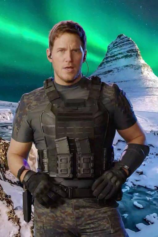 Imagens do ator Chris Pratt
