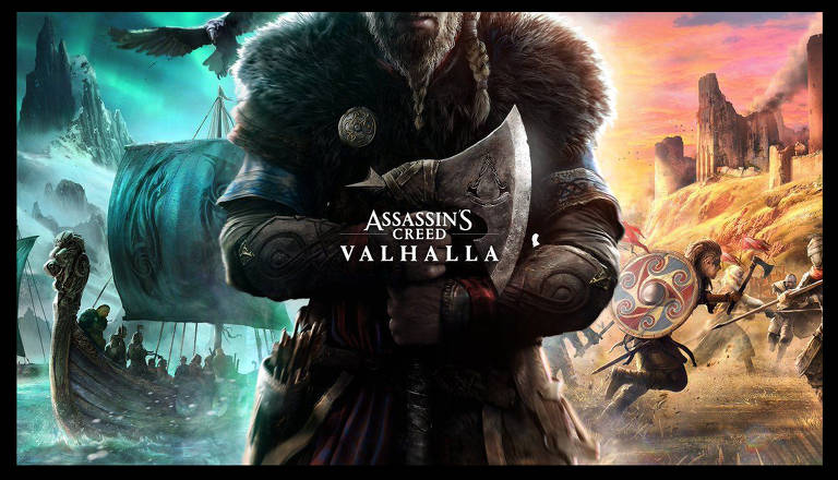 Imagens do game 'Assassin's Creed Valhalla'