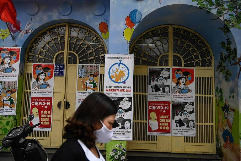 Após programa de testes em massa, Vietnã controla avanço do coronavírus