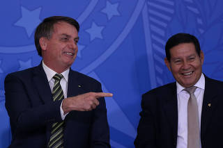 BOLSONARO / ANDRE MENDONCA / JUSTICA / MORO