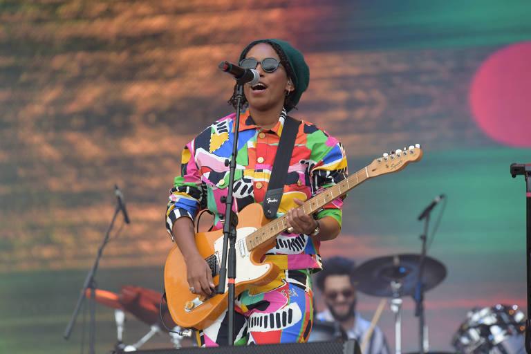 Mahmundi canta no terceiro dia do Rock In Rio 2019