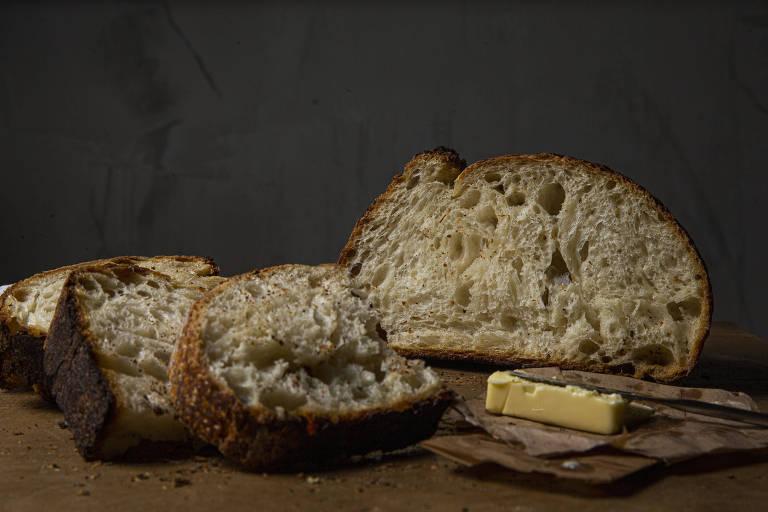 Pães da artesanais de Izabela Tavares, da Iza Padaria artesanal
