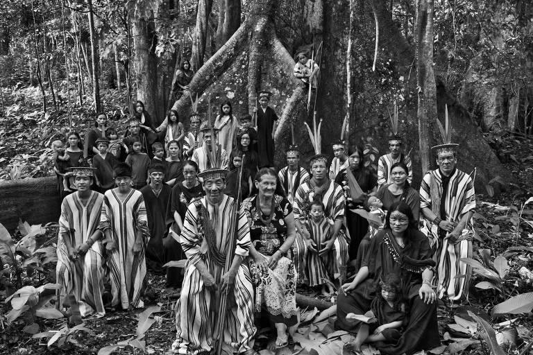 Grupo ashaninka, no extremo oeste do Acre