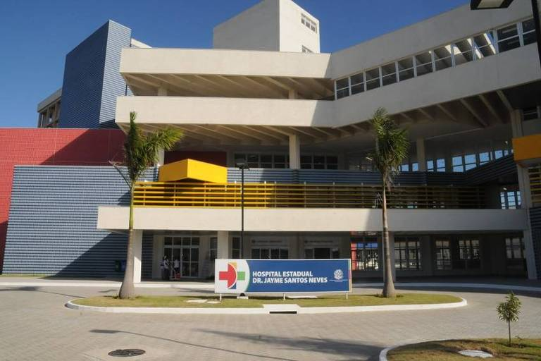 Hospital Estadual Dr. Jayme Santos Neves, o maior do Espírito Santo é apresentado para a imprensa