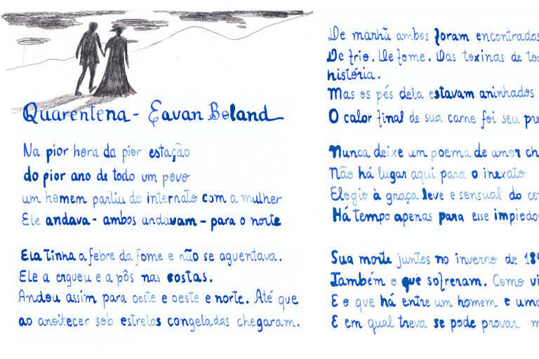 Conheça 'Quarentena', poema de Eavan Boland, sobre a Grande Fome