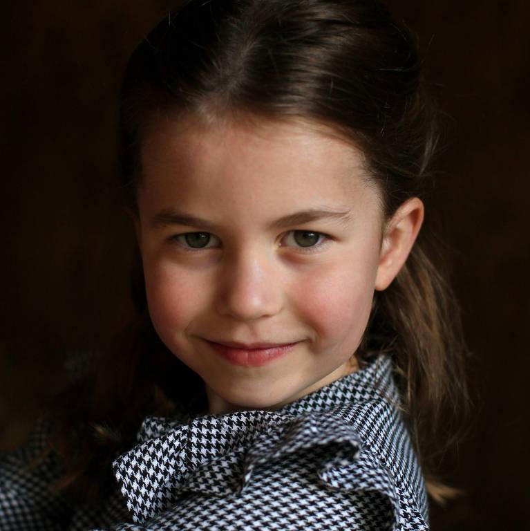 Princesa Charlotte, que comemora cinco anos de idade neste sábado