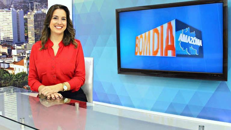 A jornalista Luana Borba
