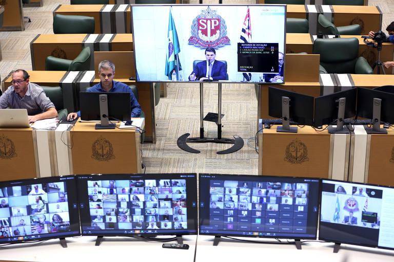 Assembleia de SP aprova projeto geral de combate ao coronavírus