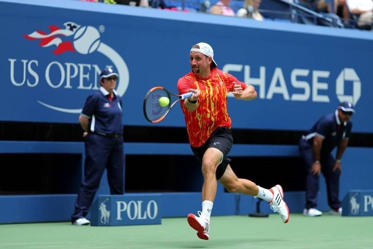 O tenista norte-americano Tennys Sandgren