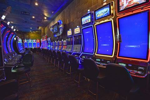 Slot machines in the