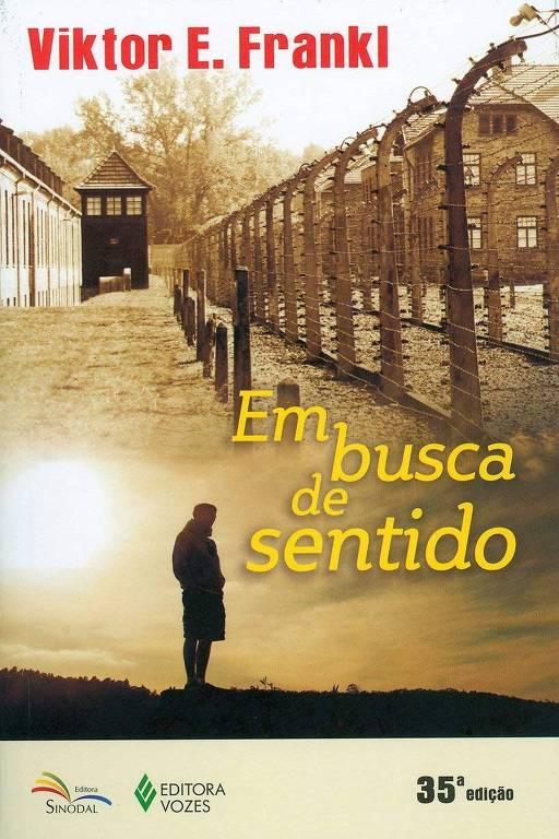 """Capa do livro """"Em Busca de Sentido"""", de  Viktor Frankl"""