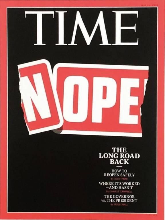Capas de revistas refletem diferentes aspectos da pandemia