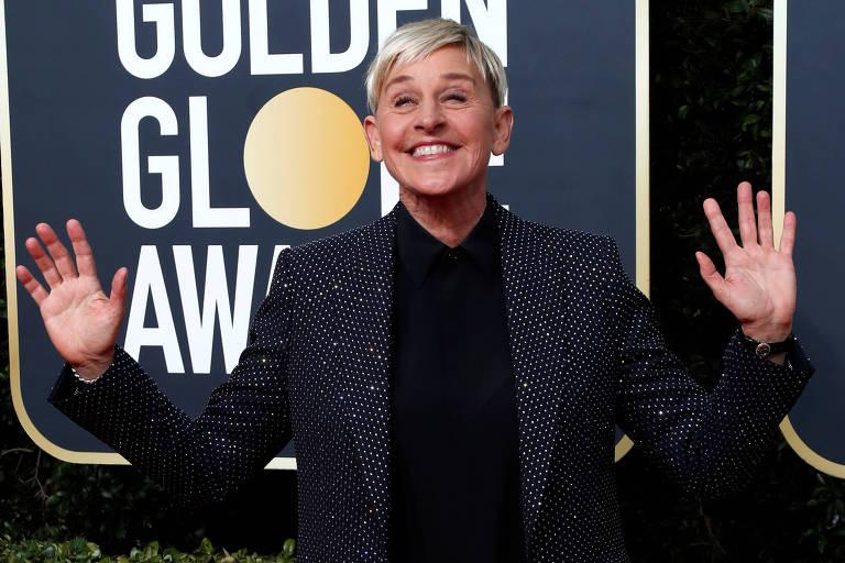 Ellen Degeneres no 77º Globo de Ouro