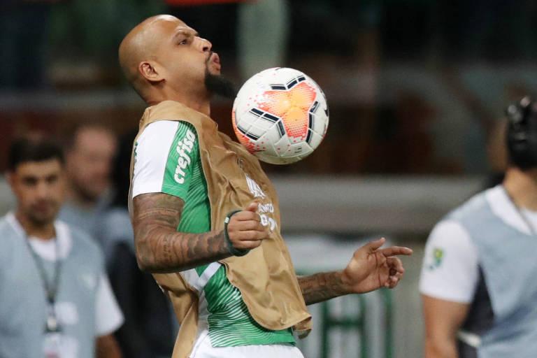 Fellipe Melo, do Palmeiras, é o jogador que encerra o vídeo produzido pela Fenapaf