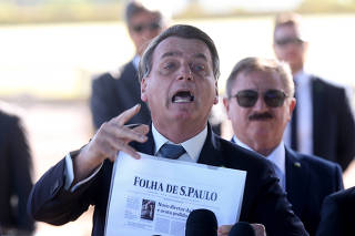 BOLSONARO / FOLHA / PF