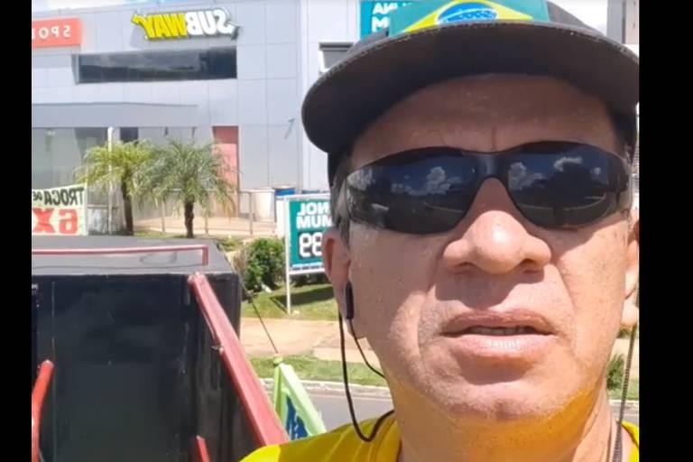 Renan da Silva Sena, funcionário terceirizado do MDH (Ministério da Mulher, da Família e dos Direitos Humanos) que agrediu verbalmente enfermeiras que faziam manifestação em Brasília