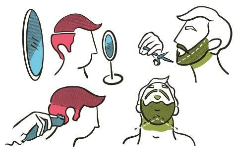 Barbearia em casa