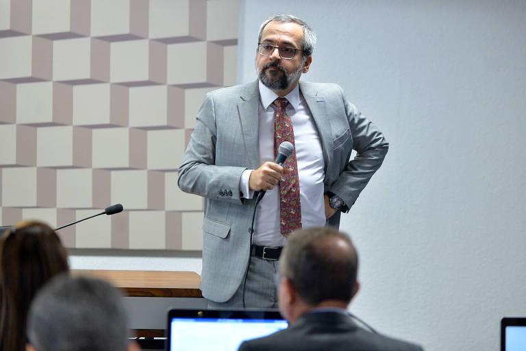 Abraham Weintraub, ministro da Educação, em audiência pública