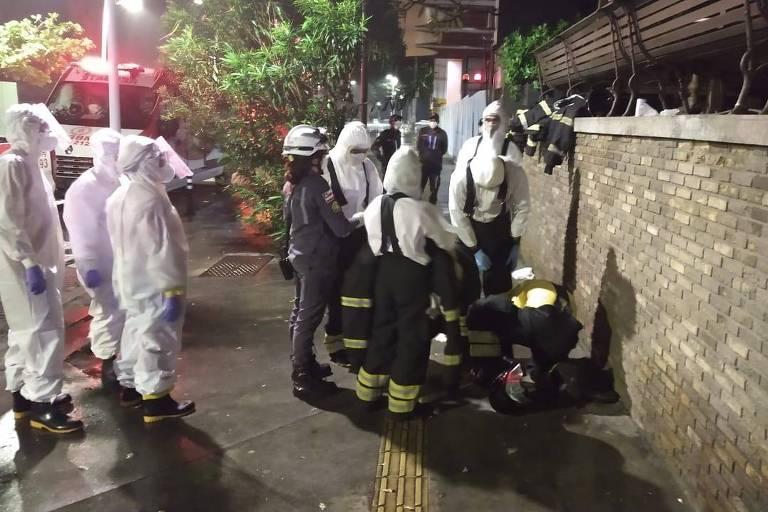 Paciente com Covid incendeia colchão e tenta fugir de hospital em Salvador