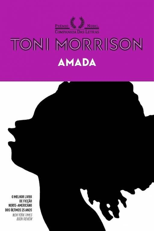 "Capa do livro ""Amada"", de Toni Morrison"