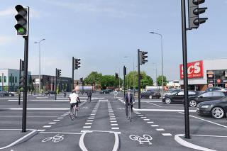 lustração do plano de mobilidade da Grande Manchester