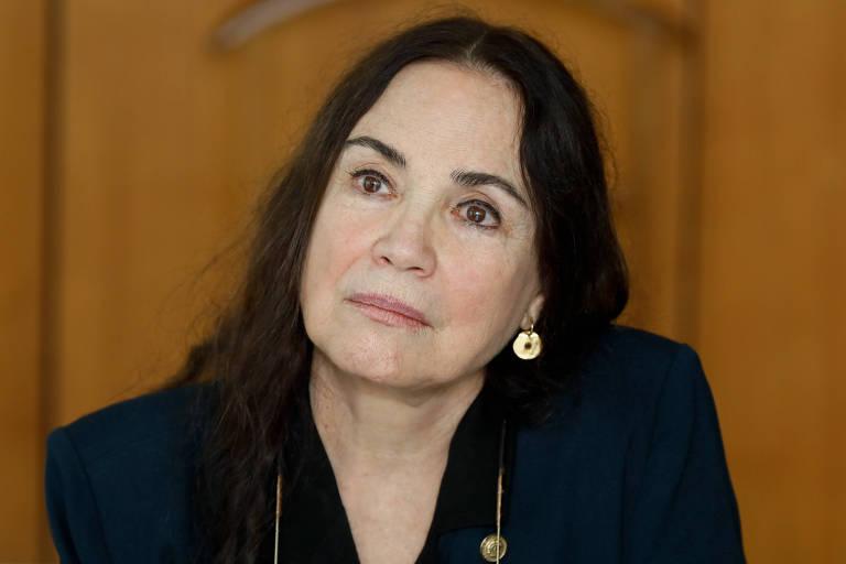 Regina Duarte, ex-secretária Especial da Cultura do Ministério da Cidadania