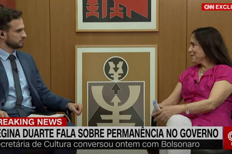 Olavo de Carvalho xinga Regina Duarte depois de defendê-la