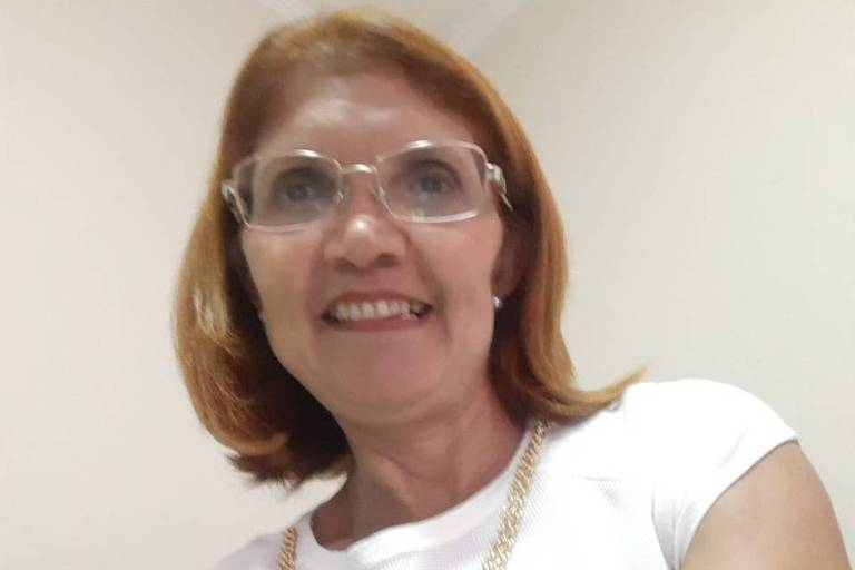 A dona de casa Quitéria de Souza ficou internada cinco dias no Hospital Santa Maggiore para se recuperar do novo coronavírus